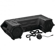 Powersports Series Waterproof All-Terrain Sound System with Bluetooth(R) & LED Light Bar (6.5