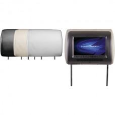 Universal Headrest Monitor with IR Transmitter & 3 Interchangeable Skins (7