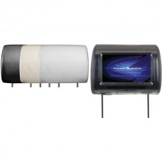 Universal Headrest Monitor with IR Transmitter & 3 Interchangeable Skins (9