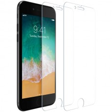Premium Tempered Glass Screen Protector with Easy Application Frame for iPhone(R) 8/7/6s/6 (2-Pack)