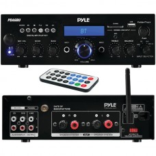 200-Watt Bluetooth(R) Stereo Amp Receiver with USB & SD(TM) Card Readers