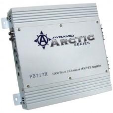 Arctic Series 2-Channel Bridgeable Class AB Amp (1,000 Watts)