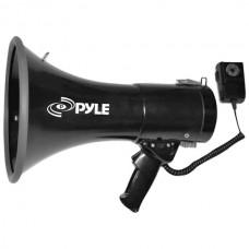 50-Watt Megaphone Bullhorn with Aux, Siren & Talk Modes