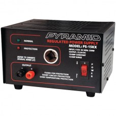 10-Amp Power Supply with Car-Charger Adapter
