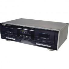Dual Cassette Deck with MP3 Conversion