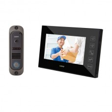 Wired Video Doorphone with 7-Inch LCD Montior
