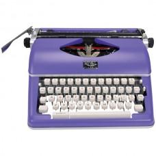 Classic Manual Typewriter (Purple)
