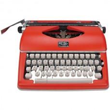 Classic Manual Typewriter (Red)