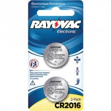 3-Volt Lithium Keyless Entry Battery (2 pk; CR2016 Size)