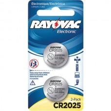 3-Volt Lithium Keyless Entry Battery (2 pk; CR2025 Size)