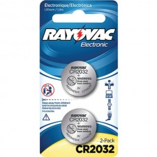 3-Volt Lithium Keyless Entry Battery (2 pk; CR2032 Size)
