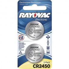 3-Volt Lithium Keyless Entry Battery (2 pk; CR2450 Size)