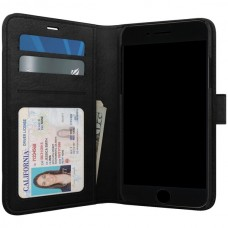 Polo Book Wallet Case for iPhone(R) 8/7/6s Plus (Black)