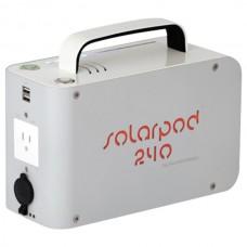 Solarpod(TM) 240 Portable Power Station