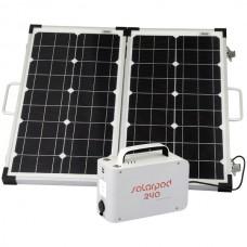 Solarpod(TM) 240 Kit with 60-Watt Rigid Solar Panel