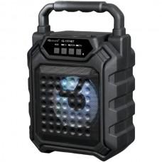 4-Inch Portable Bluetooth(R) Speaker (Black)