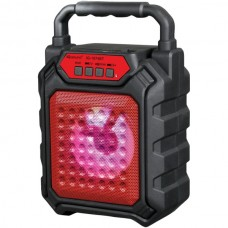 4-Inch Portable Bluetooth(R) Speaker (Red)