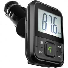 Bluetooth(R) FM Transmitter with Large Display