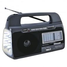 9-Band AM/FM/SW 1-7 Portable Radio