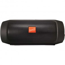 7-Inch Portable Bluetooth(R) Rechargeable Speaker (Black)