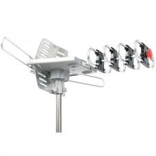 360? HDTV Digital Amplified Motorized Rotating Outdoor Antenna