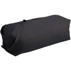 10-Inch x 10-Inch x 36-Inch Duffel Bag with Strap, Black