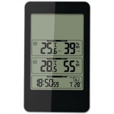 Indoor/Outdoor Digital Thermometer with Barometer & Timer