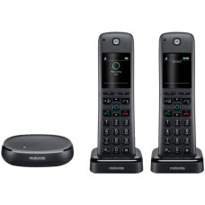 AX Series Dect 6.0 Cordless Digital Phone and Answering System with Built-in Alexa(R) (2 Handsets)