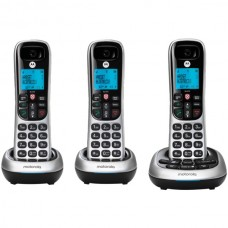 CD4 Series Digital Cordless Telephone with Answering Machine (3 Handsets)