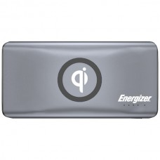 10,000 Series Qi(R) Wireless-Charging Power Bank with 2 USB Ports