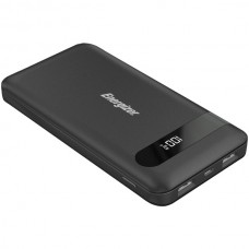 10,000 Series Power Bank with 2 USB Ports (Black)
