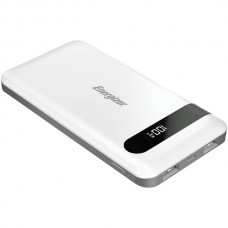 10,000 Series Power Bank with 2 USB Ports (White)