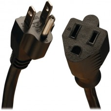 14-Gauge, 15-Amp Heavy-Duty Power Extension Cord (10ft)