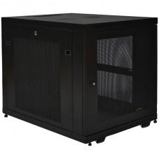 12U SmartRack Mid-Depth Rack Enclosure Cabinet