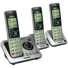 3-Handset DECT 6.0 Expandable Speakerphone with Caller ID