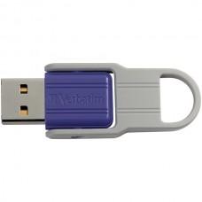 32 GB Store n Flip USB Drive, Violet