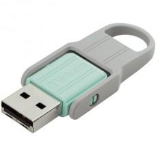 2-Pack 32 GB Store n Flip USB Drive, Blue/Mint