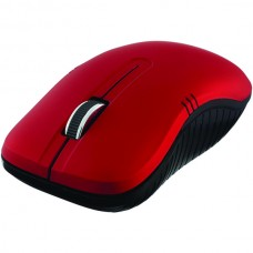 Commuter Series Wireless Notebook Optical Mouse (Matte Red)