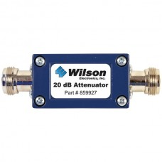 50ohm Cellular Signal Attenuator with N-Female Connectors (20dB)